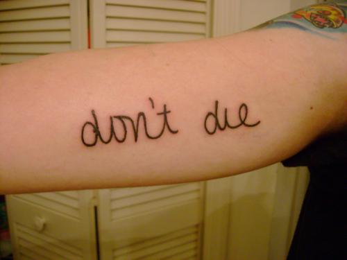 Music Lifeline Tattoo Tattoo